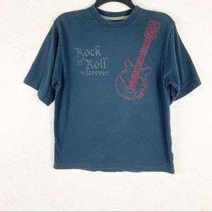 🏖SALE🏖 Rock n Roll forever faded guitar tee